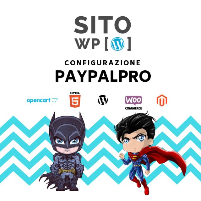 Piano assistenza-configurazione Paypal pro