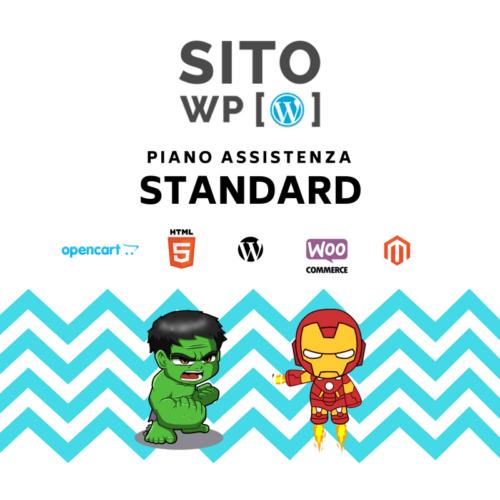 Piano assistenza wordpress standard
