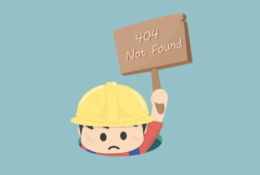 Correggere gli errori 404 su WordPress