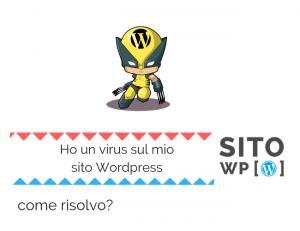 rimuovere virus da sito wordpress