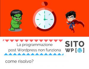 Perchè programmazione post-non_funziona