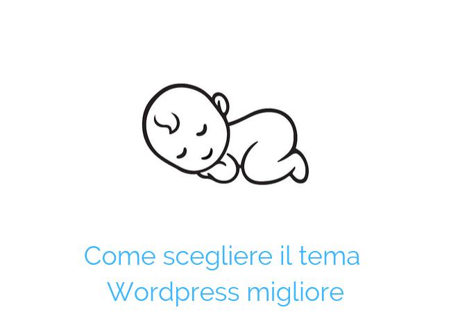 temi wordpress semplicità