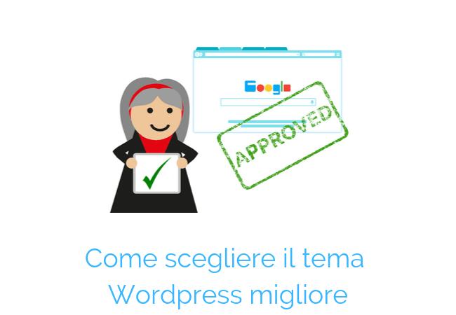temi wordpress google friendly