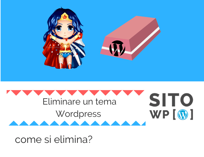 Come cancellare un tema WordPress